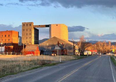 Story Mill area in Bozeman, Montana